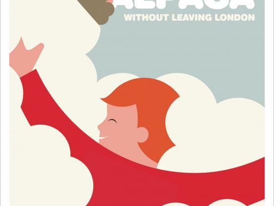 Transport for London Print Ad -  Alpaca