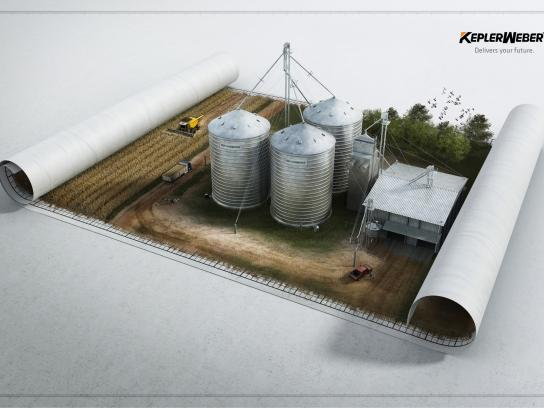 Kepler Weber Print Ad -  Delivers Your Future, 1
