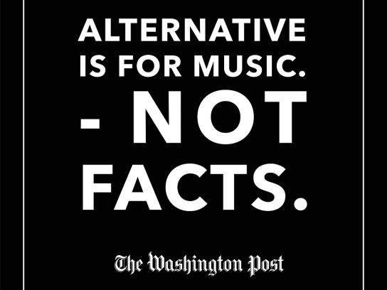 The Washington Post Print Ad - Alternative's For, 1