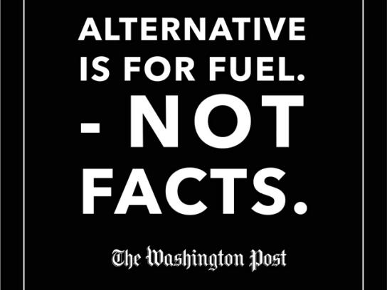 The Washington Post Print Ad - Alternative's For, 2