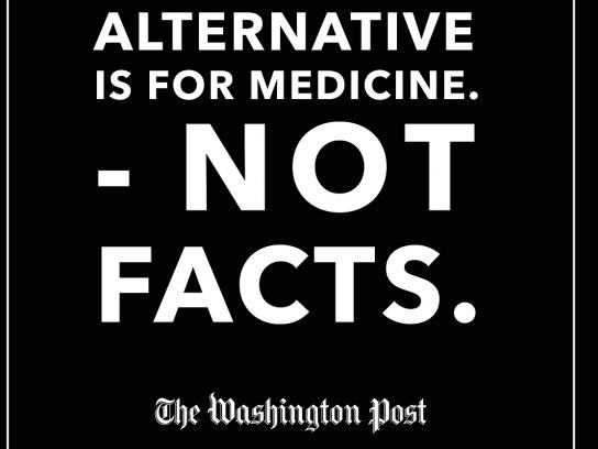 The Washington Post Print Ad - Alternative's For, 3