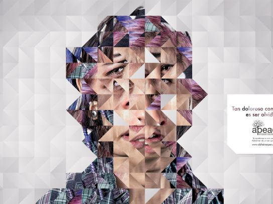 APEAD Print Ad -  Face, 1