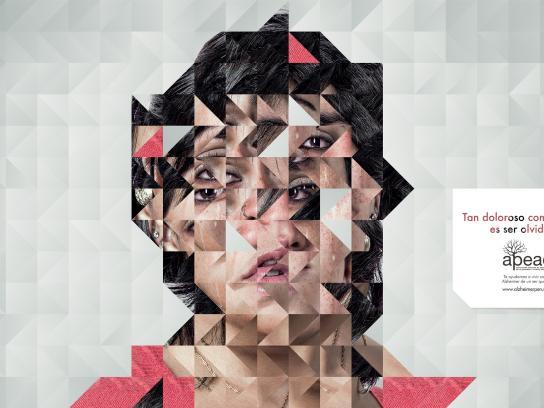 APEAD Print Ad -  Face, 2