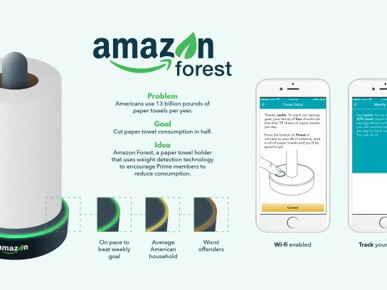 Amazon Experiential Ad - Amazon Forest
