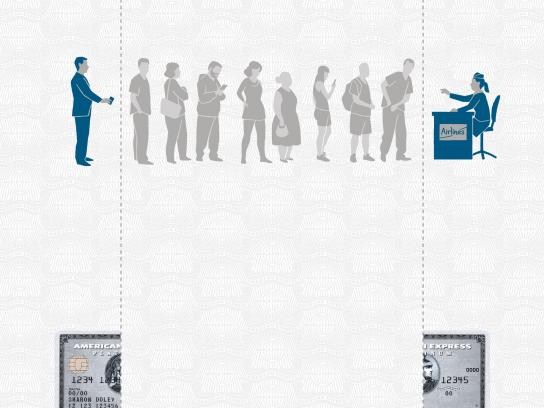 American Express Print Ad -  Line