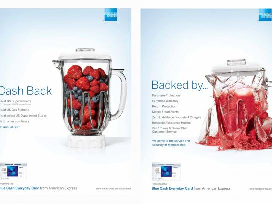 American Express Print Ad - Blender