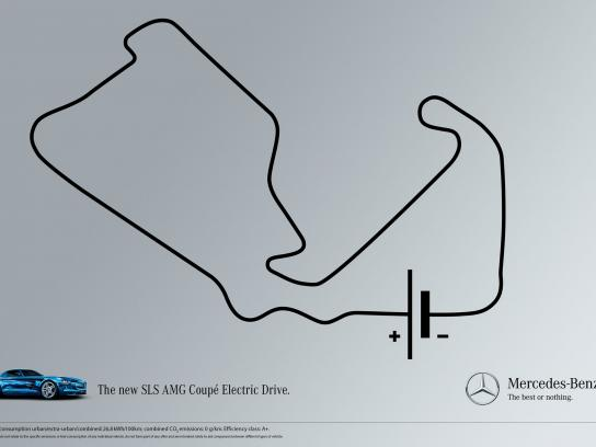Mercedes Print Ad -  Silverstone