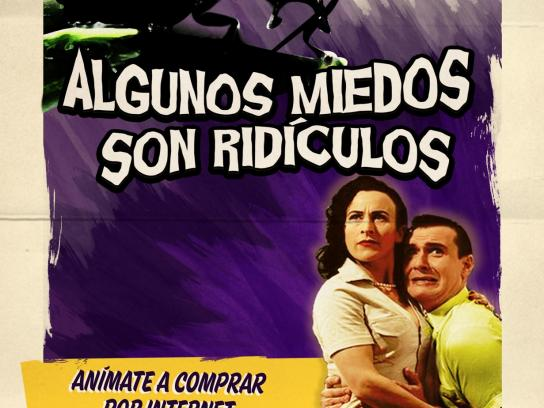 Mexican Internet Association Print Ad -  Ridiculous Fears, 3