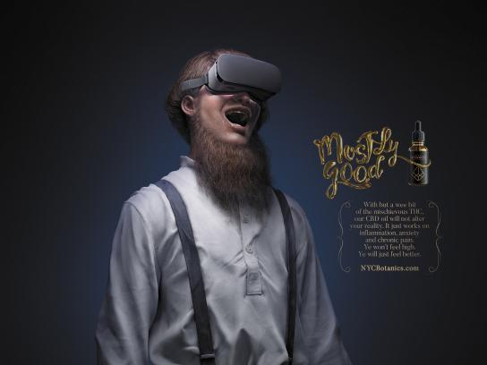 NYC Botanics Print Ad - Mostly Good - Amish VR Junkie