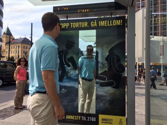 Amnesty International Outdoor Ad -  Stop torture, 5