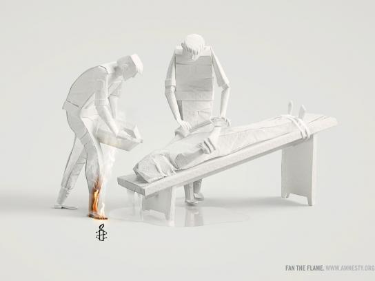 Amnesty International Print Ad -  Waterboarding