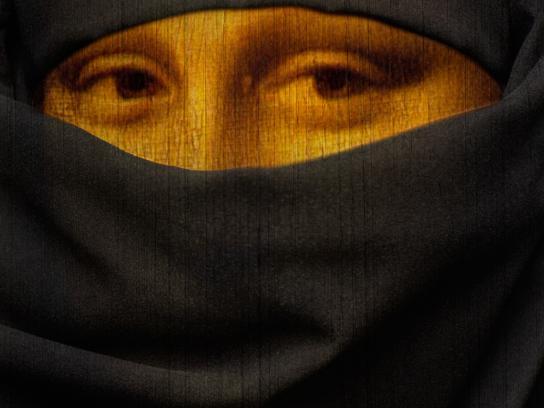 Amnesty International Print Ad -  Mona Lisa