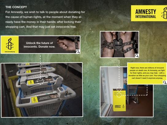 Amnesty International Ambient Ad -  Amnesty Unlock