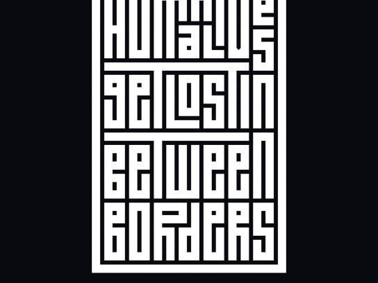 Amnesty International Print Ad - Borders