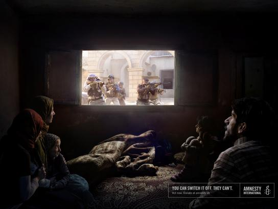 Amnesty International Print Ad - Soldier