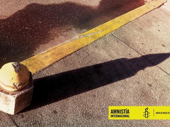 Amnesty International Print Ad -  Bullet
