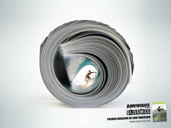 Amouage Print Ad -  Magazine