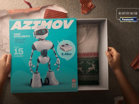 Panasonic Print Ad - Robo