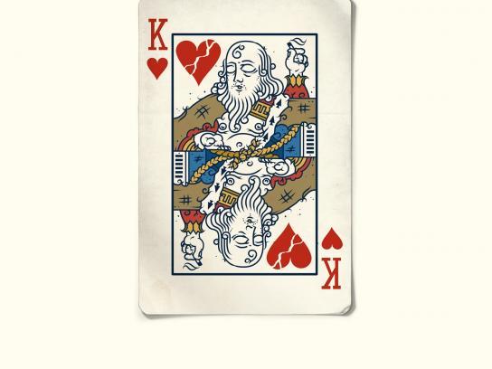 Quatro Estacoes Print Ad -  King