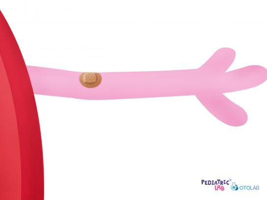 OTOLab Print Ad - Pediatric Lab - Peppa