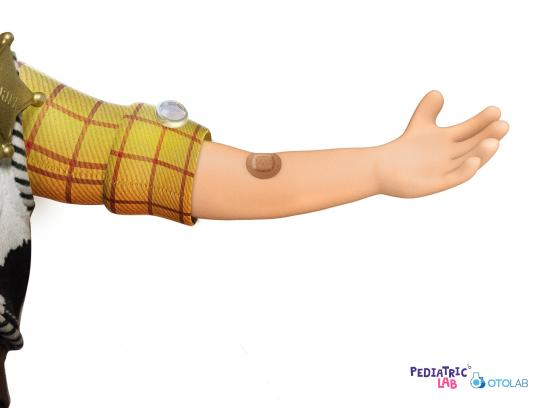 OTOLab Print Ad - Pediatric Lab - Woody