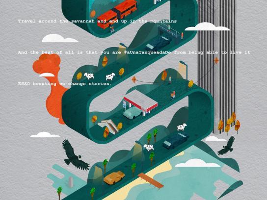ExxonMobil Print Ad - Andino