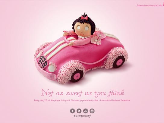 Diabetes Association of Sri Lanka Print Ad -  Not as sweet, 2
