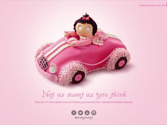 Diabetes Association of Sri Lanka Print Ad -  Not as sweet, 2