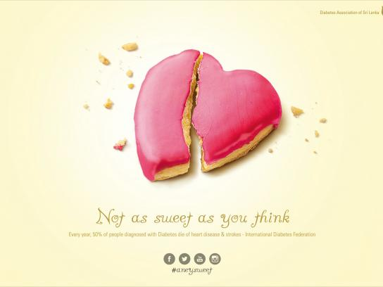 Diabetes Association of Sri Lanka Print Ad -  Not as sweet, 3