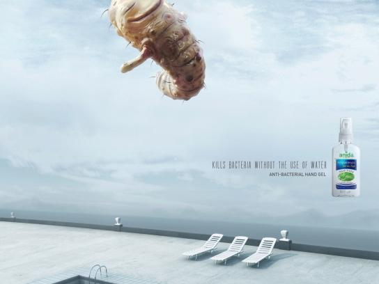Anida Print Ad -  Without water