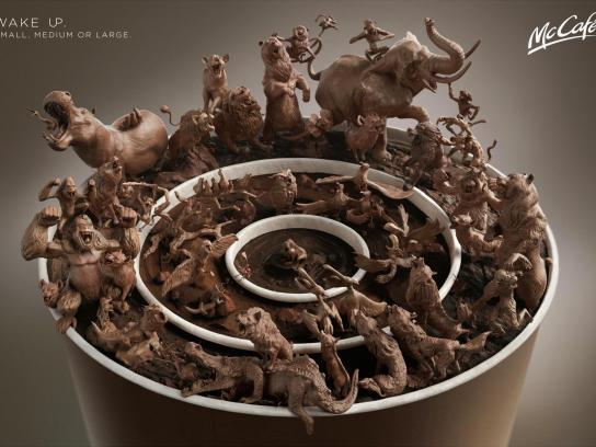 McDonald's Outdoor Ad -  Animals