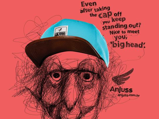 Anjuss Print Ad - Big Heads, 3