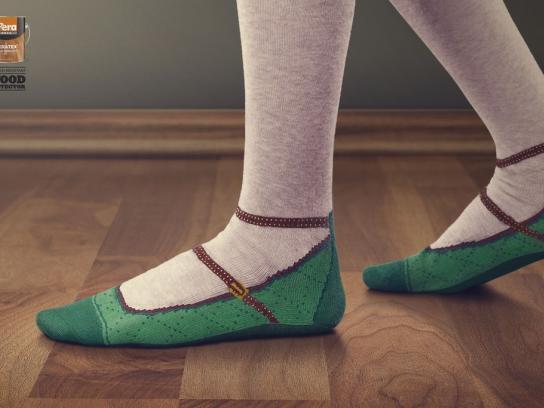 Pera Boya Print Ad -  Ankle strap