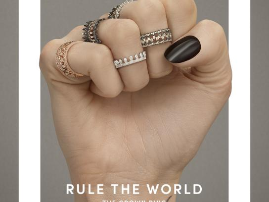 Annoushka Print Ad - Rule the World, 1
