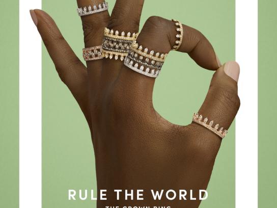 Annoushka Print Ad - Rule the World, 2
