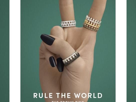 Annoushka Print Ad - Rule the World, 3