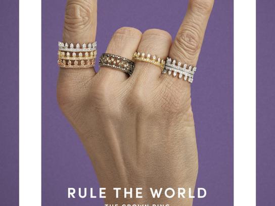 Annoushka Print Ad - Rule the World, 4