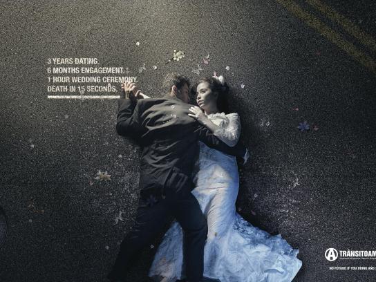 ONG Trânsito Amigo Print Ad -  Wedding