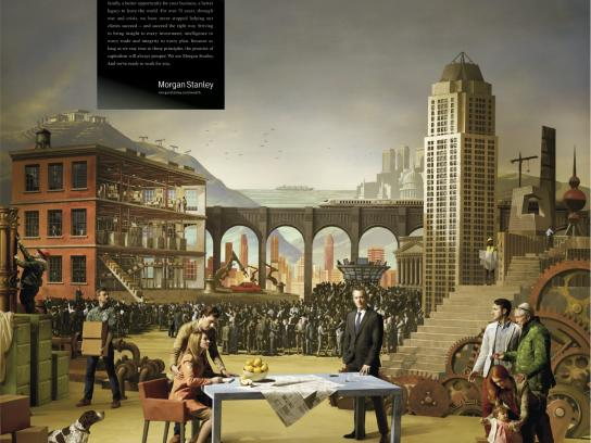 Morgan Stanley Print Ad -  Pursuit