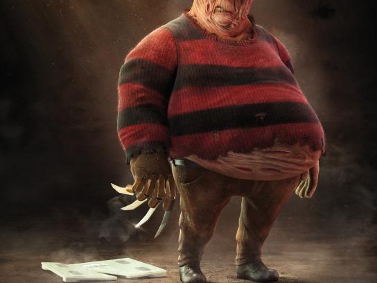 Omron Print Ad - Fat Krueger