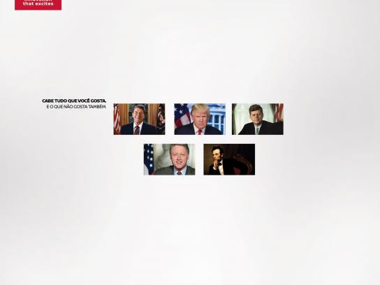 Nissan Print Ad - Presidents