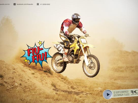RKS Print Ad -  Bad Sounds, Bike