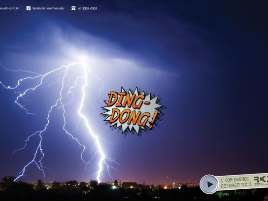 RKS Print Ad -  Bad Sounds, Lightning