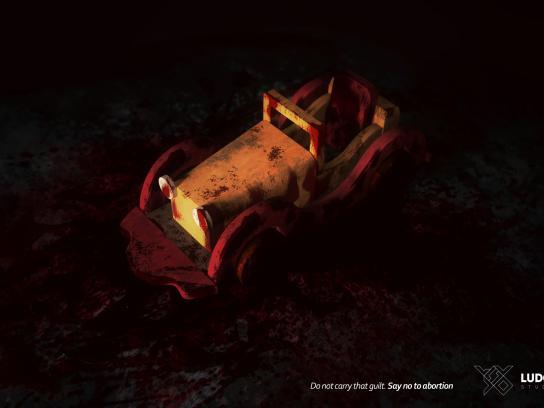 Ludos Studio Print Ad - No To Abortion, 1