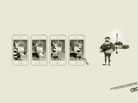 CDG Print Ad -  Thief