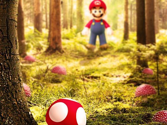 Nintendo Print Ad -  Reality