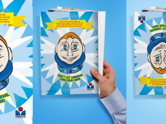 Hospital Metropolitano Print Ad -  Head