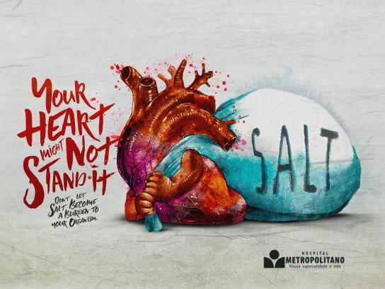 Hospital Metropolitano Print Ad - Hearth