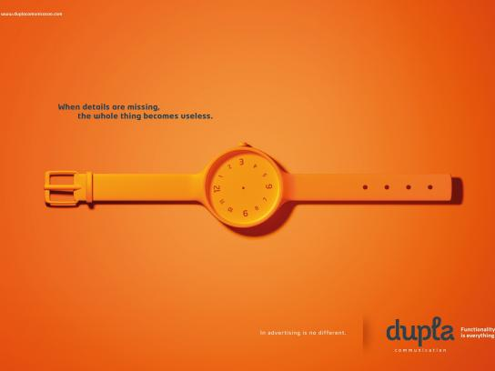 Dupla Print Ad -  Missing, 1