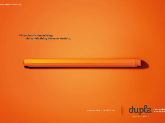 Dupla Print Ad -  Missing, 2